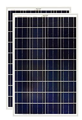 Grape Solar 100W Polycrystalline Solar Panel (2 Pack)