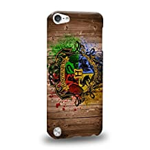 Case88 Premium Designs Harry Potter Hogwarts School of Witchcraft and Wizardry Sign 0919 Protective Snap-on Hard Back Case Cover for Apple iPod Touch 5
