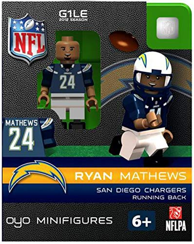 NFL San Diego Chargers Ryan Mathews Figurine
