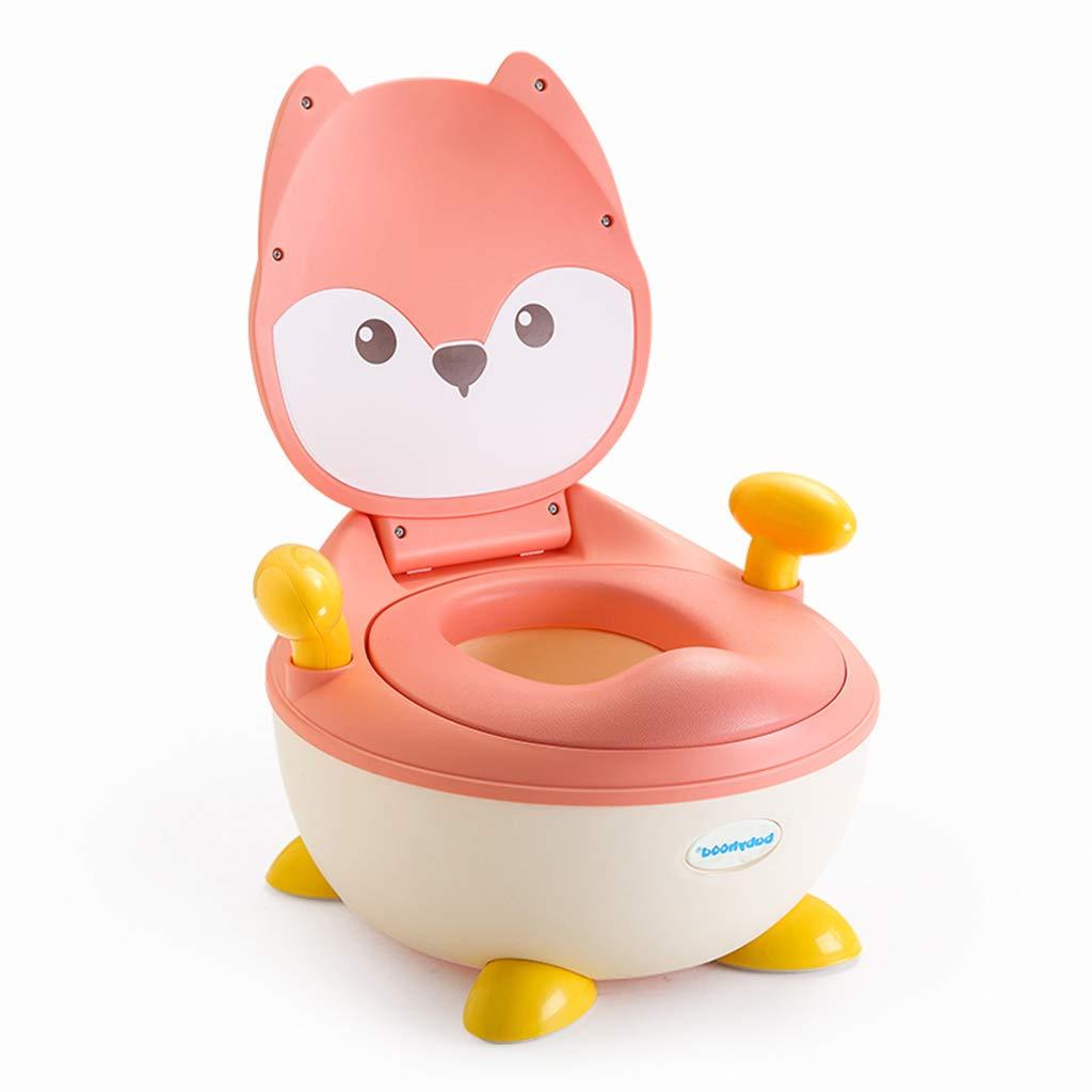 子供用トイレ 男性/女性のベビートイレ 1-3-6歳のベビートイレ 子供便器のトイレ 耐えられる重量70KG おむつトイレ (Color : Pink, Size : 33 × 35 cm/13*14 inch) 33 × 35 cm/13*14 inch Pink B07KC6HMTM
