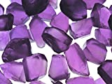 Fantasia Materials: 25 cts of Deep Amethyst Professional Sawn Facet Rough - 15-20 cts/pc- Raw Natural Crystals for Faceting, Cabbing, Cutting, Lapidary, Polishing, Wire Wrapping, Wicca & Reiki Healing
