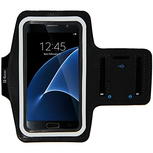 [해외]Galaxy S7 Running & amp; /Galaxy S7 Running & Exercise Armband with Key Holder & Reflective Band