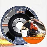 Metal Stainless Steel INOX Grinding Disc Depressed