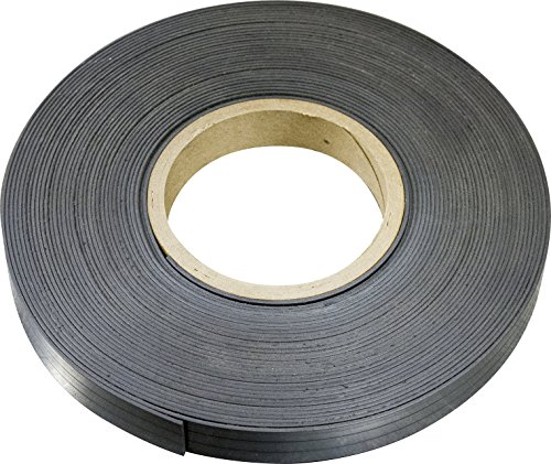 MAG-MATE MRN030X0050X025 Flexible Magnet Material Without Adhesive, 0.030 x 1/2 x 25'
