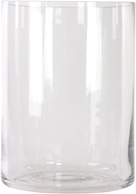Amazon Com Libbey Cylinder Vase 6 Inch Clear Set Of 12 Home Amp Kitchen