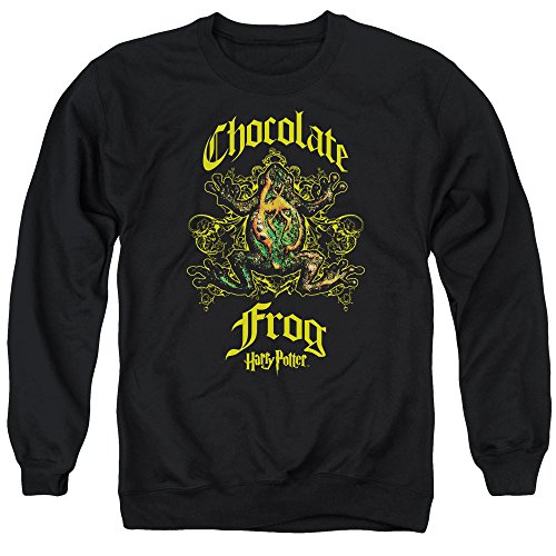 - Harry Potter Chocolate Frog Unisex Adult Crewneck Sweatshirt for Men and Women, Medium