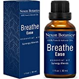 NEXON BOTANICS Breathe Essential Oil Blend 30 ml - Pure, Natural Blend from Eucalyptus, Peppermint, Rosemary and Niaouli Oils - Helps Relief Sinus, Colds, Allergy, Flu, Cough and Congestion