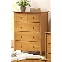 ACME 08947 San Marino Chest, Maple Finish