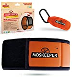 Moskeeper® Mosquito Repellent Bracelet with Free Clip and 4 Repellent Refills Non Toxic 100% Natural Insect Repellent Wrist Bands for Adults & Kids