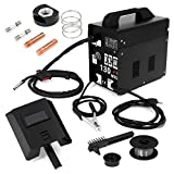 MIG Welder - MIG Series Gas-Less Flux Core Wire Welder Welding Machine Automatic Feed Unit DIY (MIG-130)