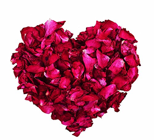 Big Bud Powder (TooGet Dried Natural Real Red Rose Petals Organic Dried Flowers Wholesale Best for Wedding party decoration, Bath, Body Wash, Foot Wash, Tea, Baking, Potpourri, Crafting - 4 OZ)