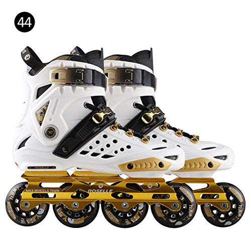 Adjustable Inline Skates for Kids and Adults, Roller Skates with Featuring All Illuminating Wheels, for Girls and Boys, Men and Ladies