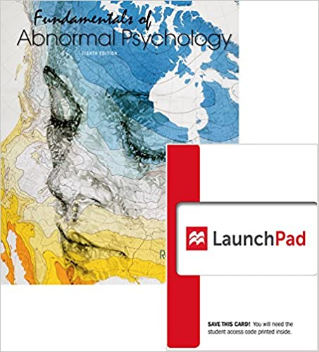 Amazon bundle fundamentals of abnormal psychology 8e bundle fundamentals of abnormal psychology 8e launchpad six month access 8th edition fandeluxe Images