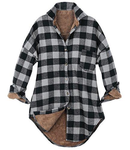 Flannel Womens Jacket - 2