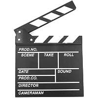 Regista Cinematografico di Movie Clapper Board, Regista Video Scene Clap TV Movie Clapper Board Movie Slate Cut Prop