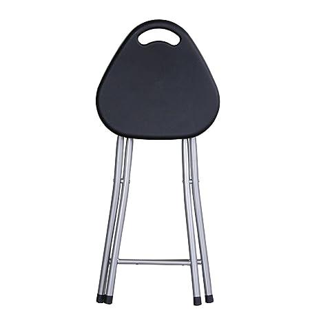 Amazon.com: Sillas plegables sillas de comedor taburete ...