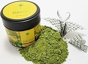 Dasom Matcha Green Tea Powder [MADE IN JAPAN + USDA/JAS Certified + U-Kosher] Nishio Aichi Prefecture Japan (1 Pack)
