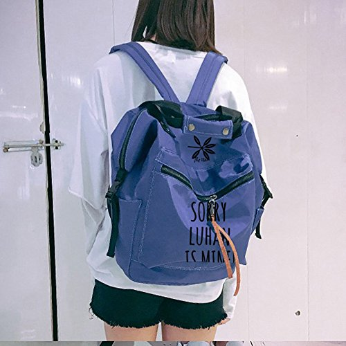 Tao pink Shoulder Schoolbag Canvas Messenger Backpack Bag Kpop Backpack pencil set Book Bags case EXO F1Ow6qB