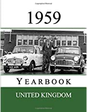 1959 UK Yearbook: Original book full of facts and figures from 1959 - Unique birthday gift / present idea. (UK Yearbooks)