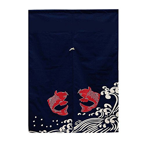 George Jimmy Japanese Style Door Curtains Sushi Bar Restaurant Decor Noren Curtain Half Screen, 10 by George Jimmy