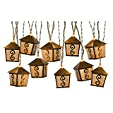 Gemmy Metal Lanterns Mini-String Lights 40114