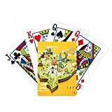 beatChong TaiPei Travel Map China Poker Playing Card Tabletop Board Game Gift