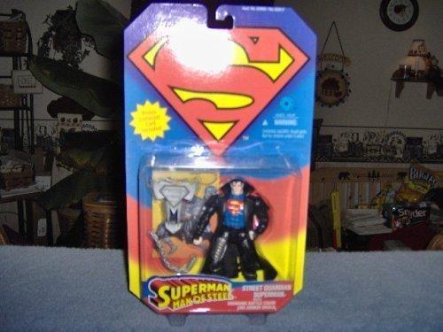 Superman Man of Steel Street Guardian Superman Kenner