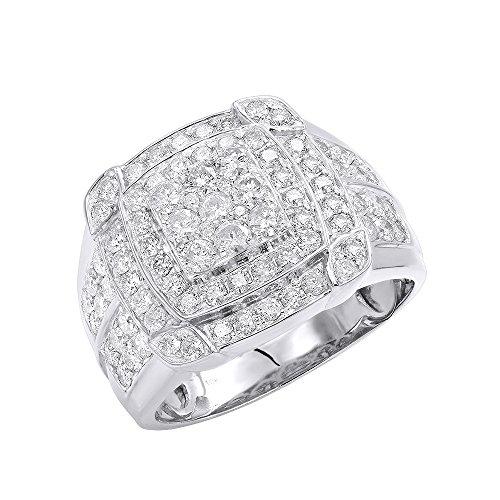2.5 Ct Mens Diamond - 1
