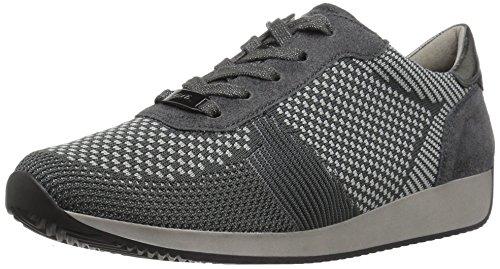ARA Women's Lilly Sneaker, Crow Woven, 9.5 M US