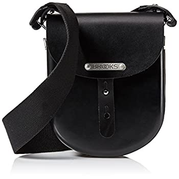 Image of Bike Pack Accessories Brooks England B1 Moulded Leather Bag, Small, Black