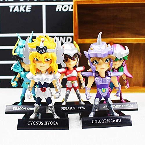 Amazon.com: 10cm (3.9 inch) - 5pcs/Set PVC Action Anime ...