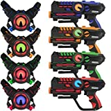 Infrared Laser Tag Guns and Vests - Laser Battle Mega Pack Set of