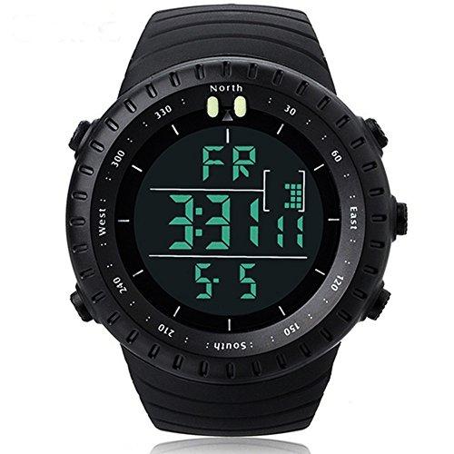 Men's Military Shock Resistant LED Digital Multifunctional Sport Watch 30M Waterproof Casual Fashion Luxury Wrist Watch