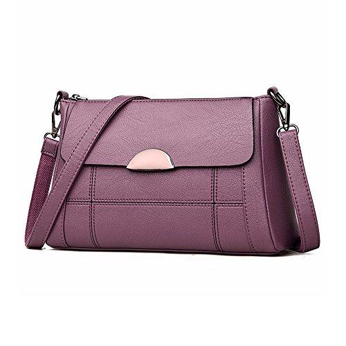 Small Alovhad Handbag Purple Bag Women Shoulder Bag Crossbody Hobo Leather Purse Satchel Women xrfYHrwq