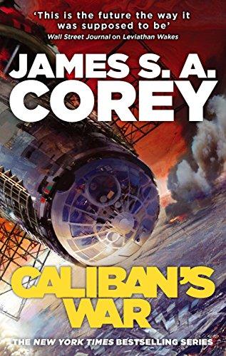 Caliban's War. The Expanse vol 2 book cover