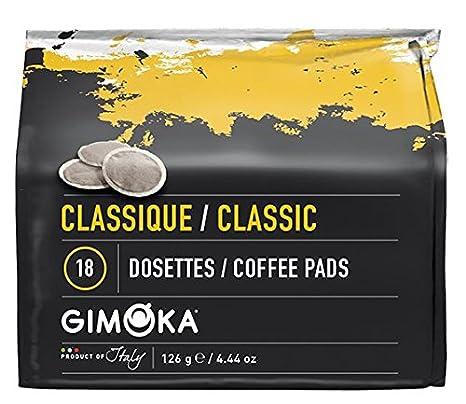 CLASSIC Paquete de 10x18 Pads 180 Senseo C/ápsulas de Cafe Compatible