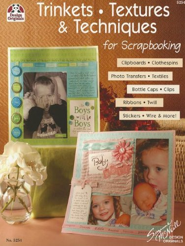 Clip Twill (Trinkets, Textures & Techniques: Clipboards, Clothespins, Photo Transfers, Textiles, Bottle Caps, Clips, Ribbons, Twill, Stickers, Wire And More (Design Originals))