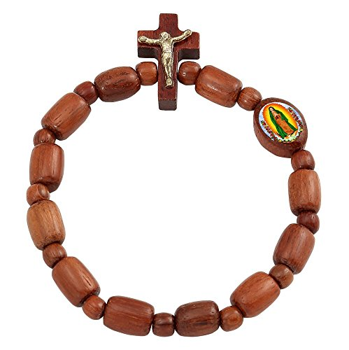Guadalupe Decade Rosary Beads Bracelet product image