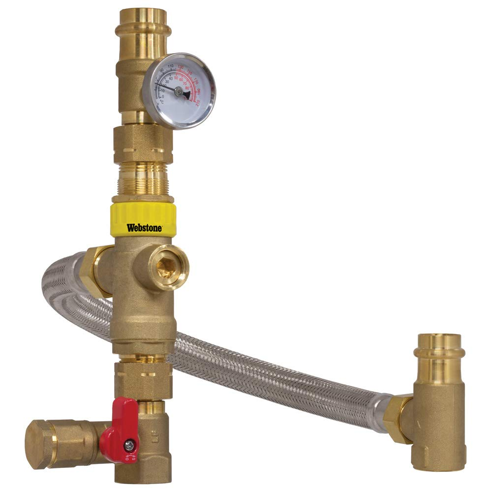 3//4 PRS WHTV with Gauge by-Pass Valve