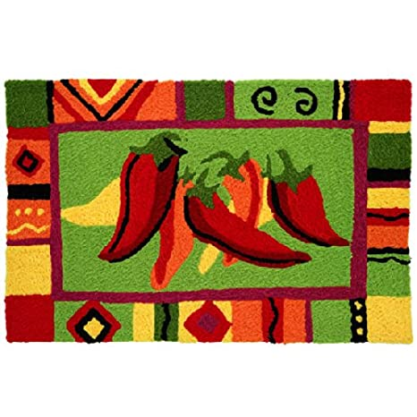 High Quality Jellybean Area Accent Rug Red Hot Chili Peppers