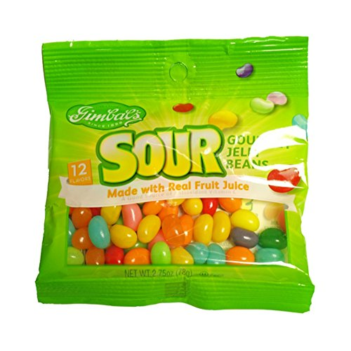 Gimbal's Gourmet Candies - Sour Jelly Beans - 12 Flavors - 2