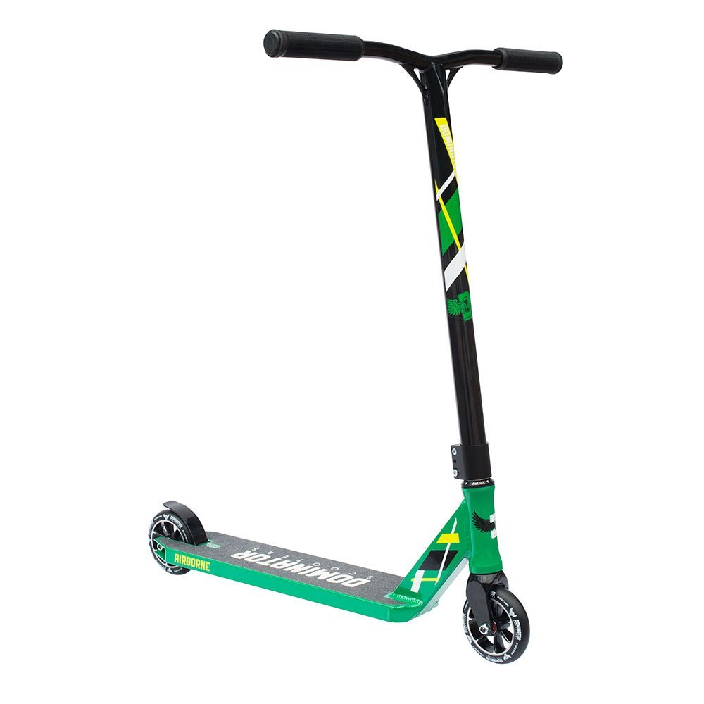 Dominator Airborne Pro Scooter (Green/Black) by Dominator Scooteres by Dominator Scooters