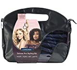 Curlformers Hair Curlers Deluxe Range Corkscrew Curls Styling Kit, 40 No Heat Hair Curlers and 2 Styling Hooks for medium length hair up to 14'' (35cm) long