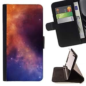 Momo Phone Case / Flip Funda de Cuero Case Cover - Galaxy Colores;;;;;;;; - LG OPTIMUS L90