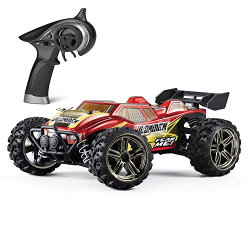 Mini RC Cars HBX Wildrider 1/24 Scale Remote-Controlled Car 4x4 Off-Road Trucks 28KM/H High Speed, 4WD Waterproof Electric Vehicle RTR Hobby Grade for Kids and Adults