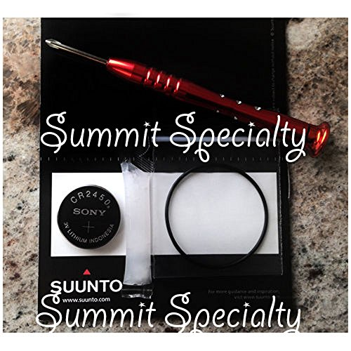 Battery Kit For Suunto D4 Dive Computer & Screwdriver, NEW!