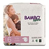 Bambo Nature Premium Baby Diapers, Size 6 (35-66 lbs), 22 Count