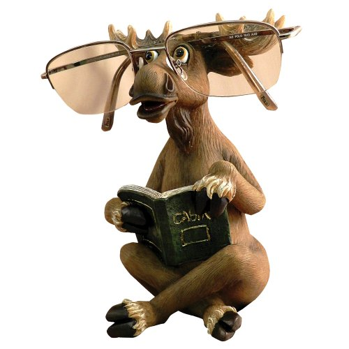 Black Forest Decor Moose Eyeglasses Holder