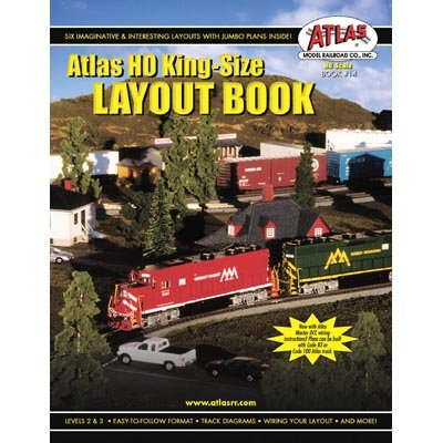HO King-Size Plan Book Atlas Track Layout