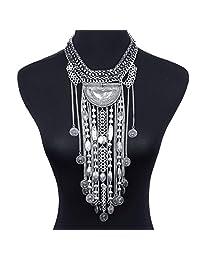 Jewelry Sets SUMAJU Necklace Earrings Set Bib Pendant Artificial Amber Pattern Baltic